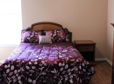 4 private bedroom suites and is completely furnished